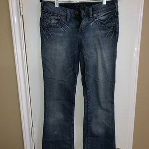 Silver bootcut Jeans 27